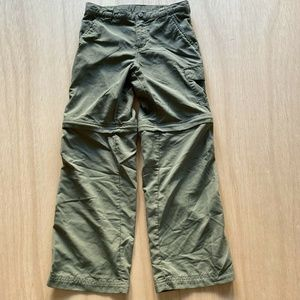 Columbia pants hiking zip off To shorts Kids Youth